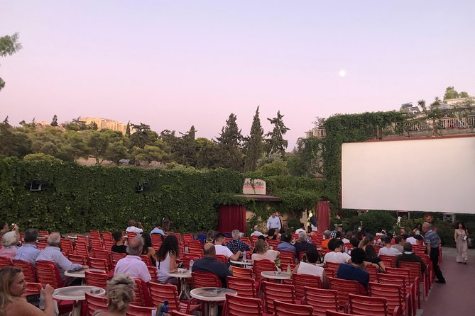 Dinner & Movie Athens Open Air Cinema at the Foothills of the Acropolis Add On