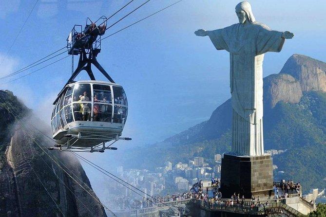 Rio Expresso: Cristo Redentor + Pão de Açúcar + Escadaria Selarón