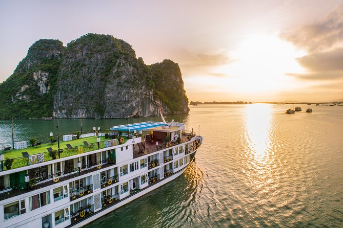 Halong Bay 3 Day 2 Night With Luxury Dynasty Cruise: Private Balcony Cabins