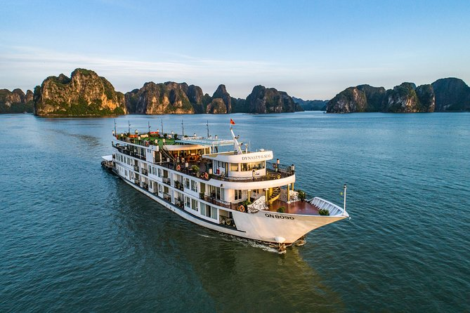 Luxury Dynasty 5 Star Cruise 2 Days/ 1 Night Tour: Suprising Cave,Titop Island