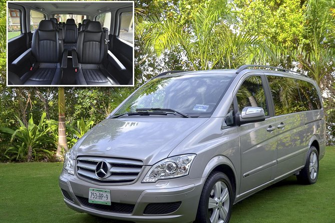 Private Luxury Van: One way or Round trip Transfer to Cancun Airport