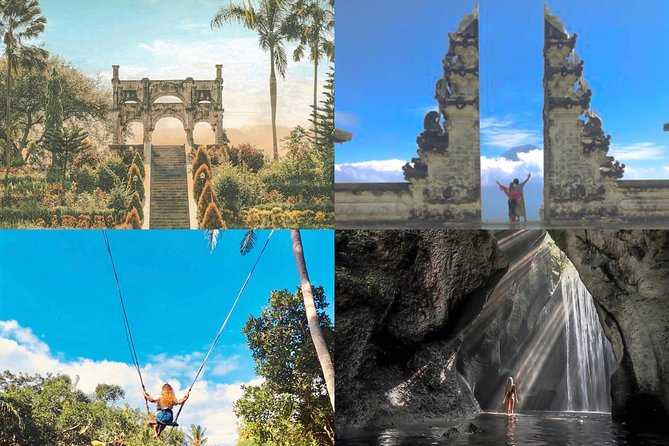 All Inclusive: Lempuyang Temple - Royal Palace - Best Waterfall and Jungle Swing