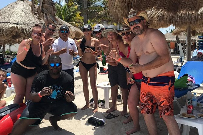 1 Day Costa Maya All Included Beach Break (transportation + Food + Drinks)