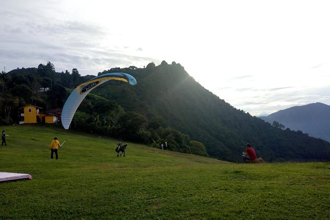 Paragliding Jericó