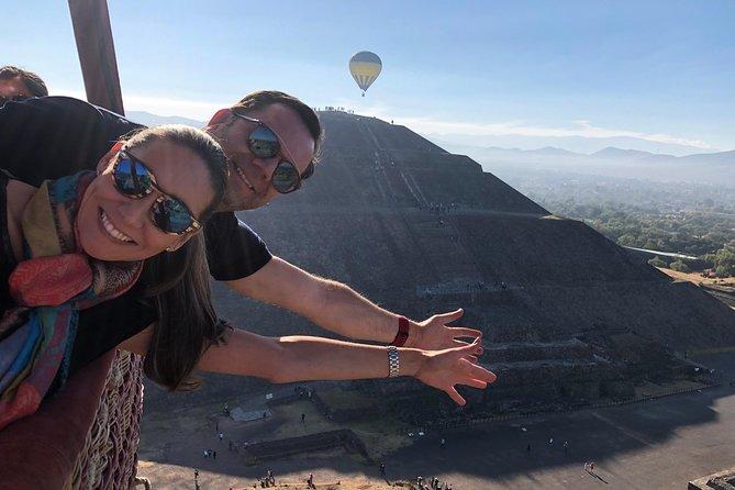 Hot Air Balloon Tour - Teotihuacan