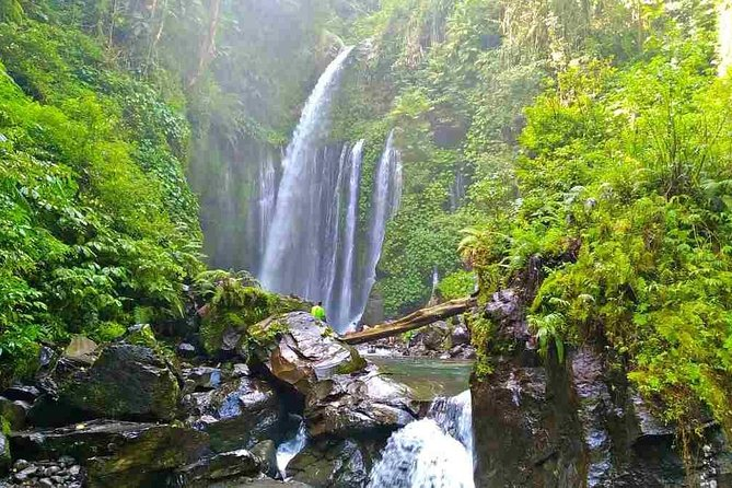 Tiu Kelep and Sindang Gile Waterfall Trekking Tour