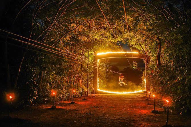 Priority Access:Nighttime Tour to Xplor Fuego Adventure Park with Transportation