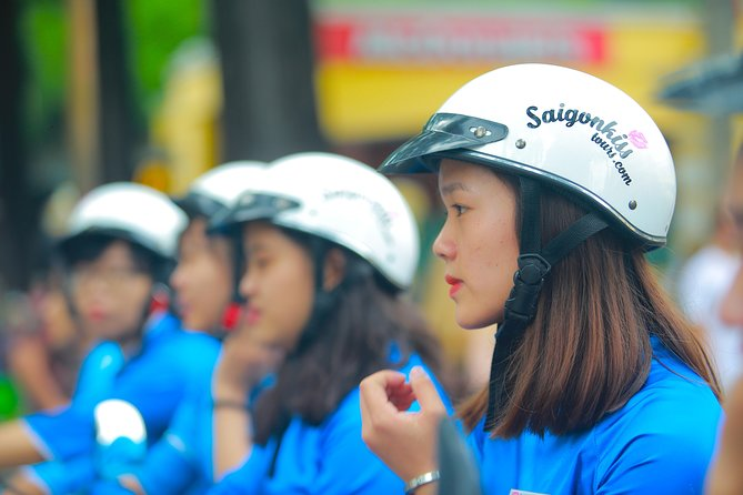 GirlPower Saigon By Night Tour by Scooters with Female Drivers | Kiss Tours