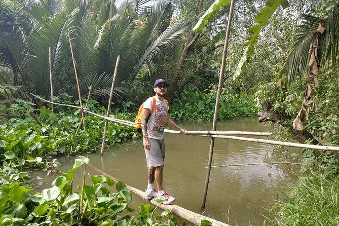 Experience Monkey Bridge only on the bike tour