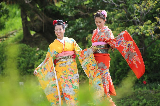 """Japanese traditional costume """"kimono"""" photography course """"Hairset & Point Makeup & Dressing & Photography"""""""