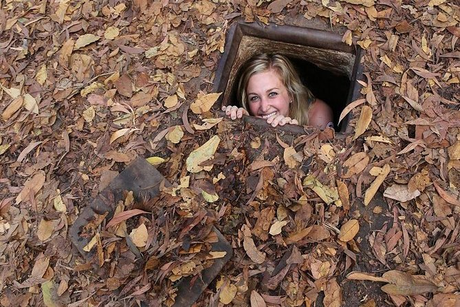 Small-Group Tour of Cu Chi Tunnels with Mekong Delta Cruise