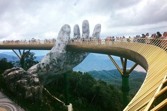 Shore Excursion from Chan May Or Tien Sa Port to GOLDEN BRIDGE & DRAGON BRIDGE