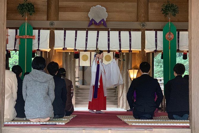 Ancient Ritual Purification Ceremony、Dress as a Shine Maiden at Miyazaki Shrine