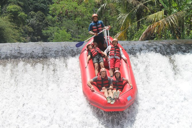 White Water Rafting Adventure at Telaga Waja River