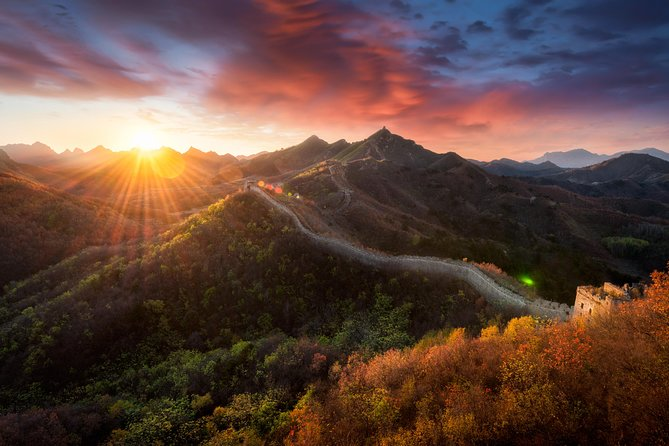 Gubei Kou to Jinshanling Great Wall Private Trekking Tour with All Inclusive