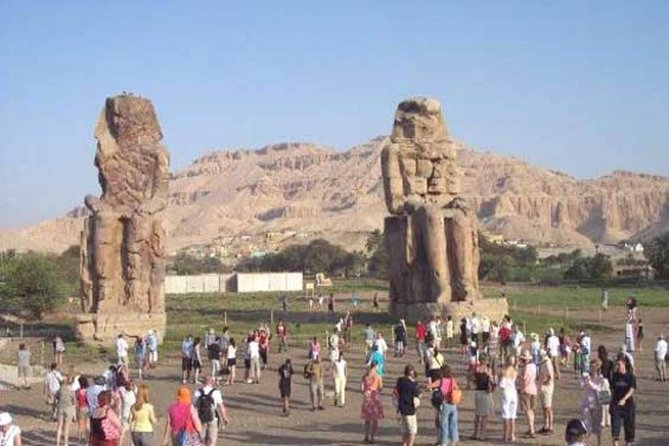 From Cairo: Luxor East & West Bank Tour by Train