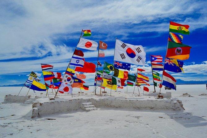 Tour de Salar de Uyuni dia inteiro | Guia de conversação em inglês | Ilha de IncaHuasi |