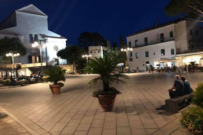 day and night on the Amalfi coast