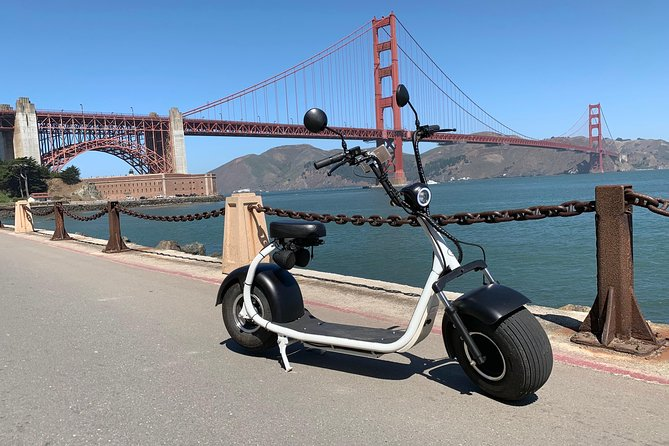 1-Hour Golden Gate and Lombard GoRide Scooter Tour