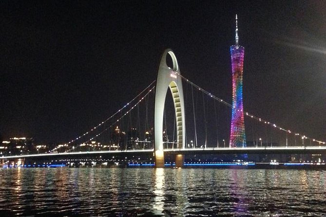 Private Guangzhou night tour with Pearl River Cruise and Canton Tower