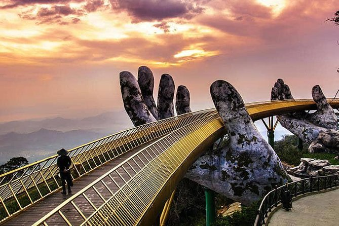 Ba Na Sunset Tour Golden bridge
