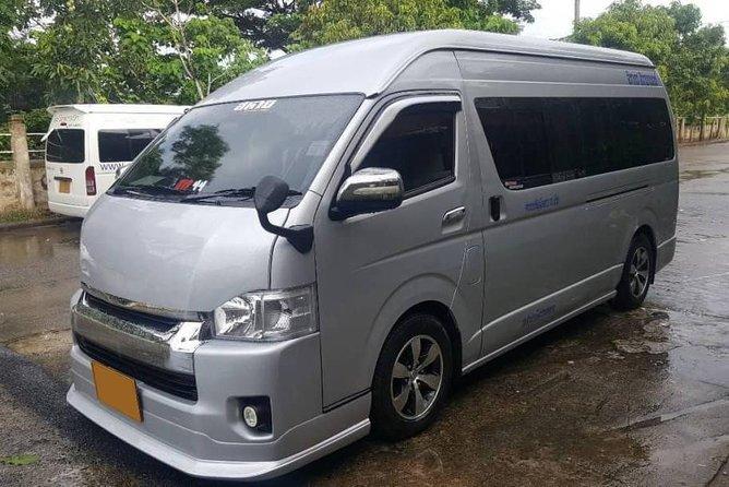Transport (Don Mueang Airport to Kanchanaburi Hotel)