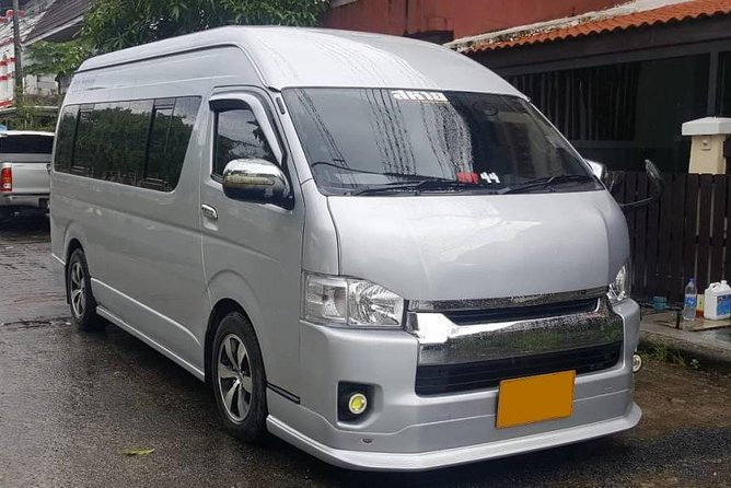 Transport (Don Mueang Airport to Pattaya Hotel)