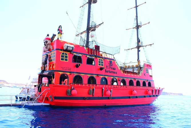 Pirate Boat Trip –to ras Mohamed National park & Tiran Island Sharm El Sheikh