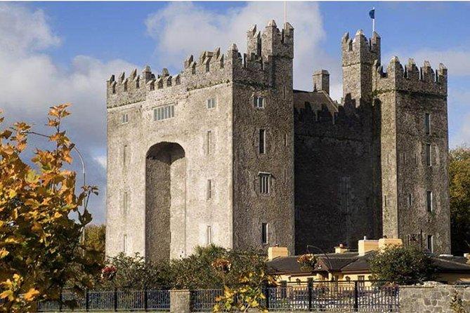 Quin Abbey, Craggaunowen and Bunratty Castle