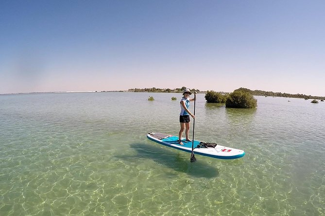 Abu Dhabi Mangroves Stand-Up Paddle Board Guided Tour photo 1