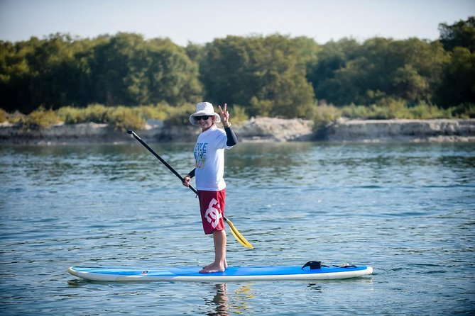 Abu Dhabi Mangroves Stand-Up Paddle Board Guided Tour photo 2