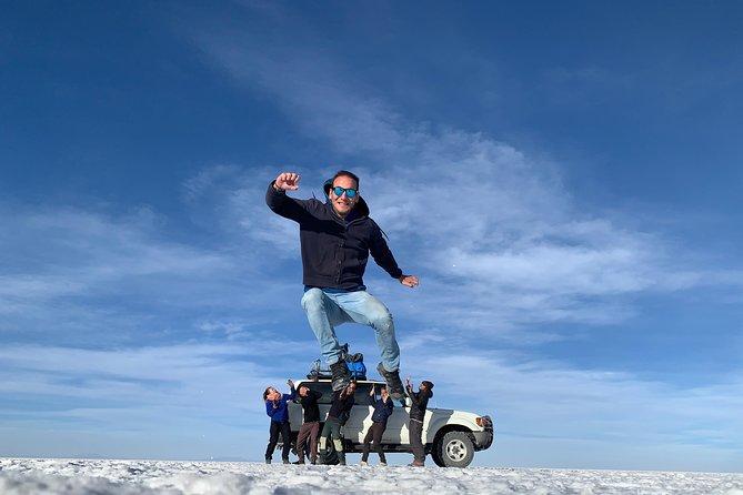 Uyuni Saltflat from San Pedro de Atacama