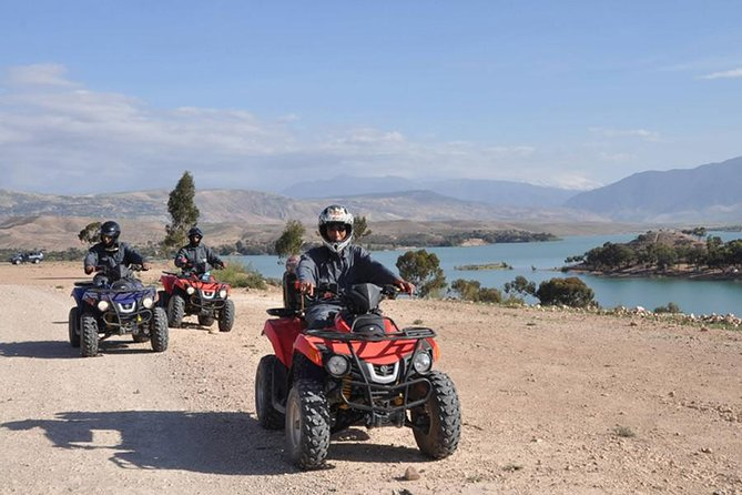 Marrakech : Lake Quad Bike Experience in Lalla Takerkoust ( Barrage )