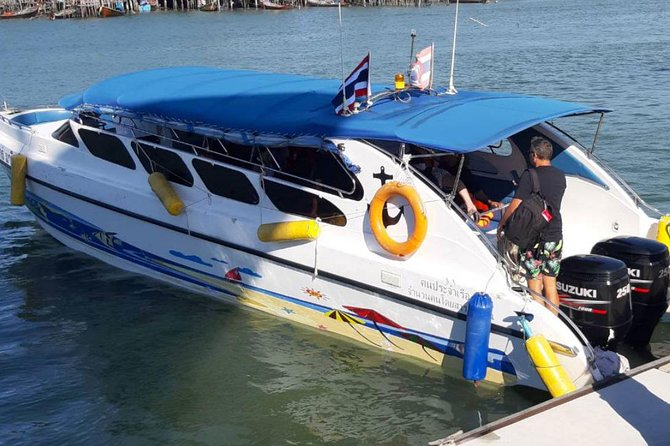 Private Speed Boat to Phi Phi Ley , Maya Bay and Monkey Island photo 2