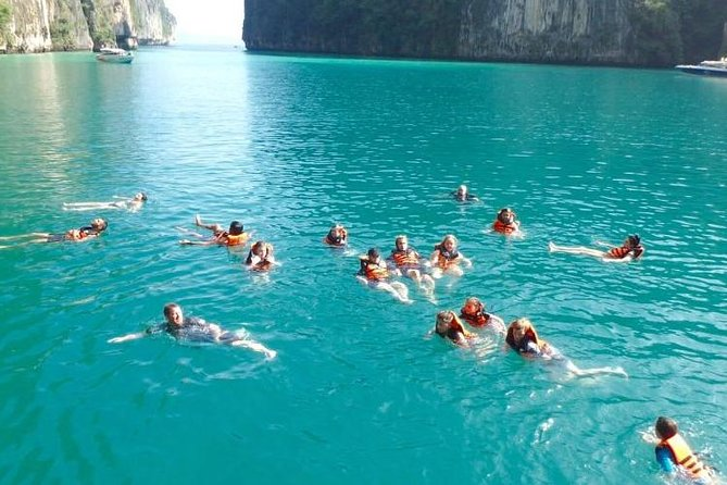 Private Speed Boat to Phi Phi Ley , Maya Bay and Monkey Island photo 3