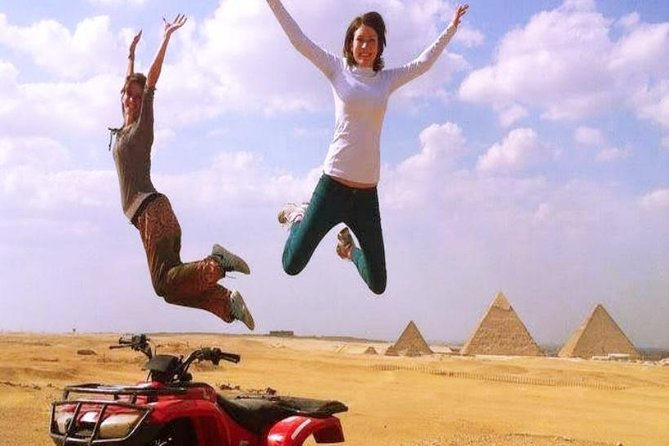 Pyramids Safari by Quad Bike