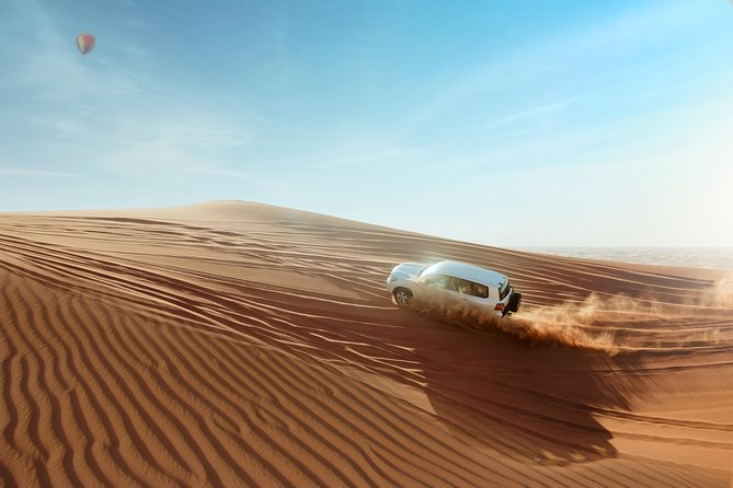 Evening Desert Safari 4x4 Dune Bashing,Sandboarding,Camel Riding,6 shows ,Dinner