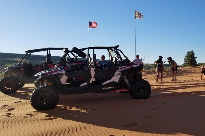 Sand Dunes & Sandboarding ATV Adventure