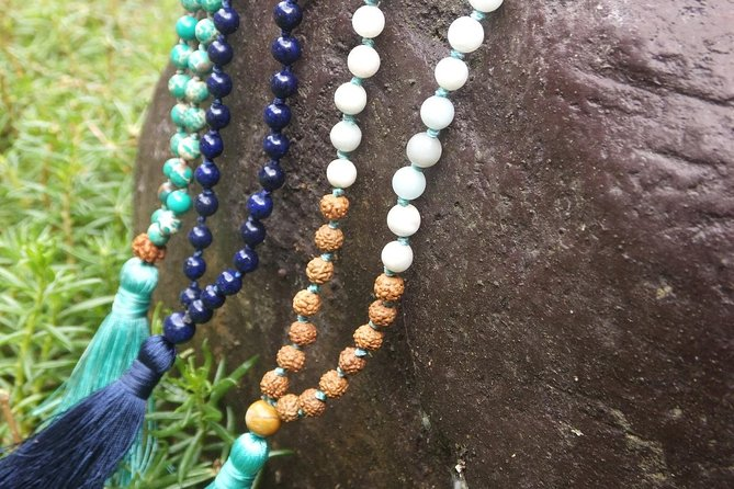 Create you Own Mala necklaces in Magical Bali