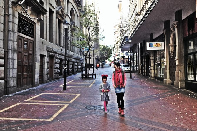 Historical city & Table Mountain