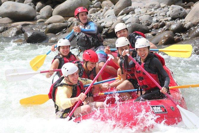 White water rafting Sarapiqui river class 3-4