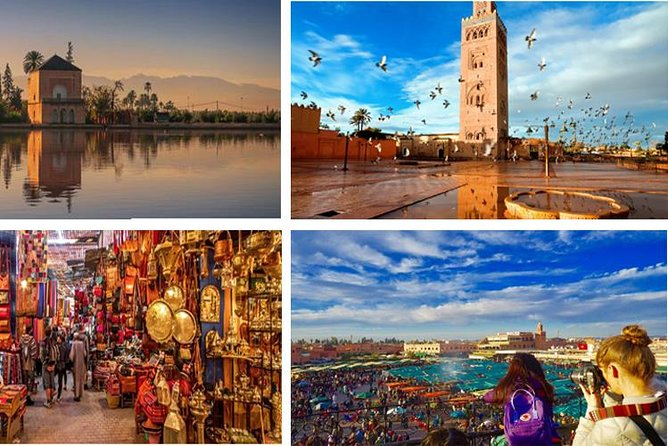 Marrakech Magical city day Trip from Agadir including guide ®