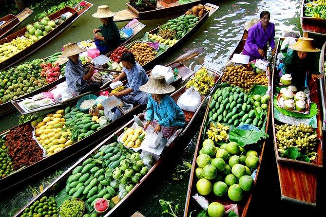 Private Tour DamnoenSaduak Floating Market English Spanish French German Italian
