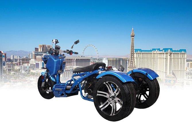 Cruise The Las Vegas Strip on a MadDog Trike 150cc All Day Rental