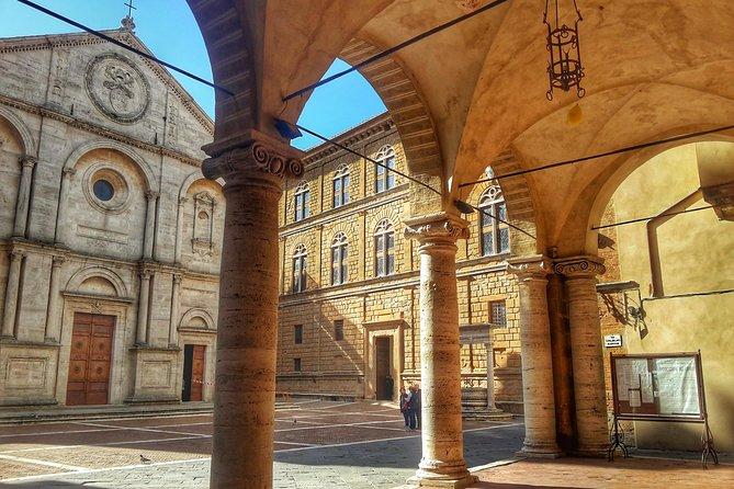 Grand Tour of Pienza, Montalcino, Montepulciano + wine and cheese tasting