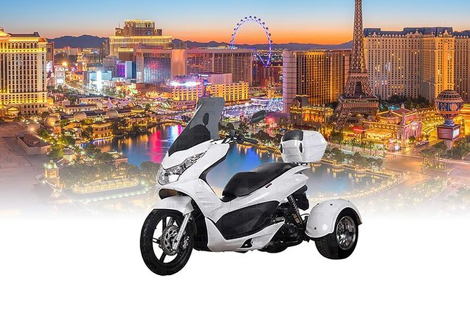 Enjoy Las Vegas on an Icebear 100cc Trike 3 Hour Rental