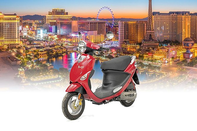 Enjoy More of Las Vegas with a Vespa Scooter
