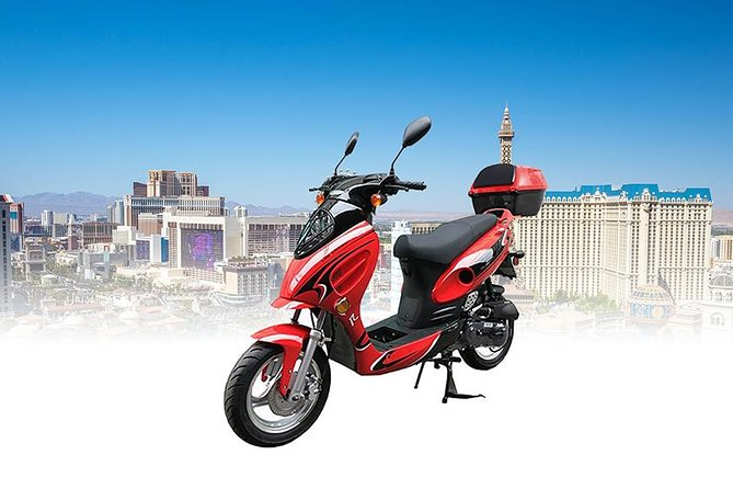 Single/Double Rider for Exploring Las Vegas All Day Rental