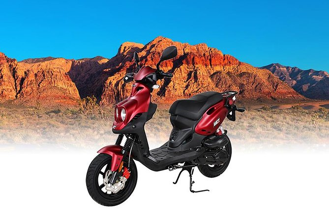 Travel Las Vegas and Red Rock Canyon on Our Premium Scooter