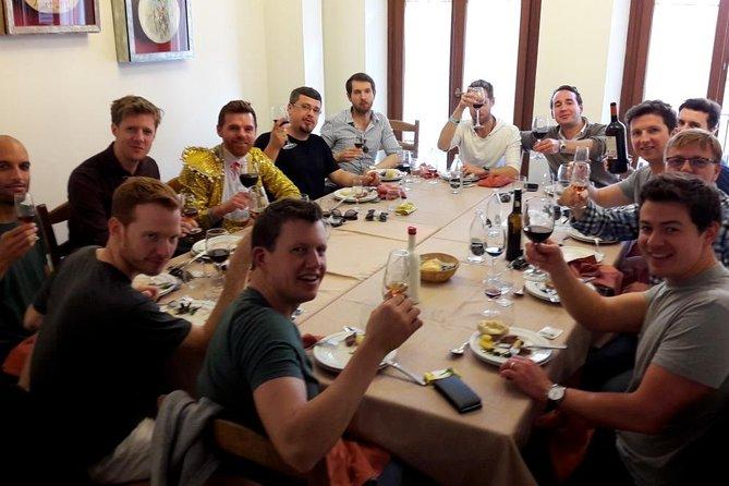 Private wine tasting meals at Seville's oldest tavern